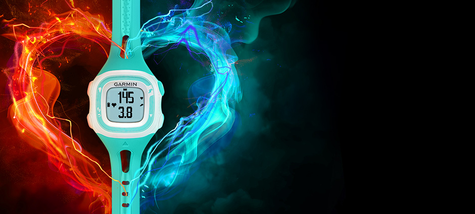 The new Forerunner 15 from Garmin available for you now at Ken Combs Running Store.
